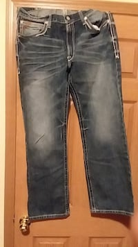 Artist m4 low rise boot cut jeans with tags Olathe