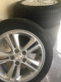 Tires and rim