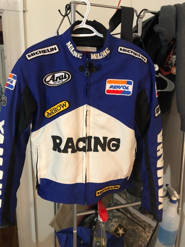 Racing jacket please read details before asking questions or counter offering
