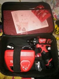 red Milwaukee hand drill set Mission, 78572