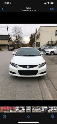 2012 Honda Civic Coupe Mississauga