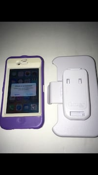 16 GB Unlocked IPhone 4s with Purple Otter Box $45 FIRM NO TRADES PLEASE Indianapolis, 46222