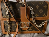 Leather LV purse with two straps for only 380 Toronto, M5B 1S5