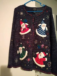 Christmas button up sweater Fayetteville, 28303