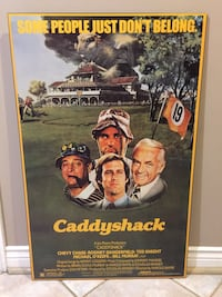 Caddy shack poster on plak board Ajax, L1T 3X5