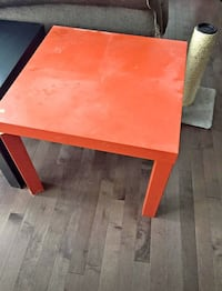 Orange side table Calgary, T1Y 4R2