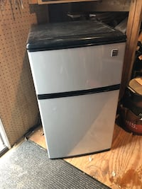 "Kenmore personal fridge/freezer.  34"" tall 18"" wide 18""deep Silver Spring, 20906"
