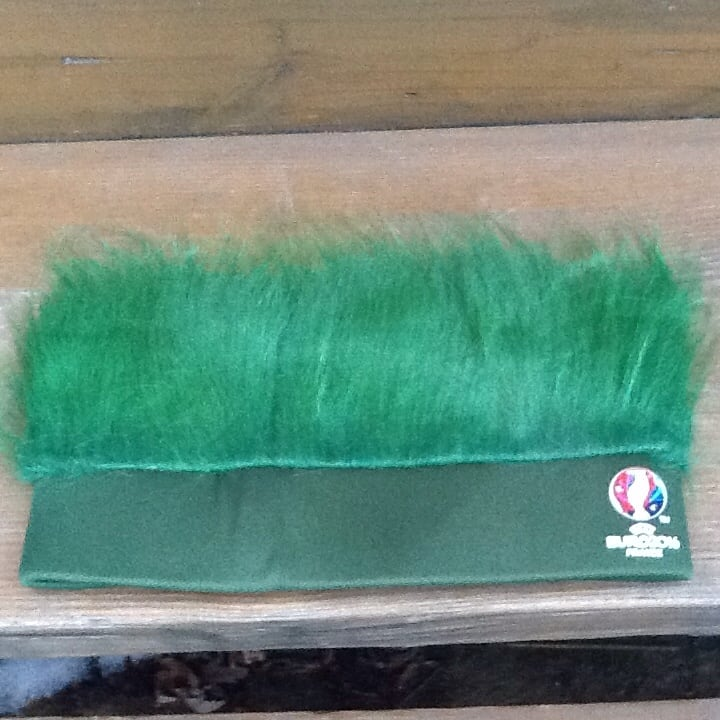 Carlsberg Beer Green Turf Head UEFA Soccer Euro 2016 France Hat - New 54e91657-fbdd-4da5-bfb7-16836b8c732f