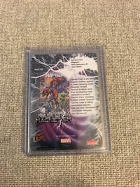 Fleer Ultra X-Men  '18 Master of Magnetism MM12 trading card X-Men Silver Spring, 20906