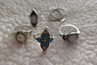 Sterling silver rings size 5 Macon, 31204