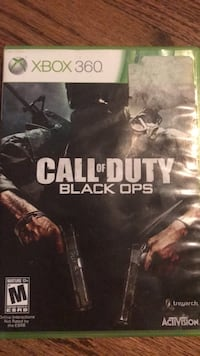 Call of Duty Black Ops Xbox 360 game case Milford, 06460
