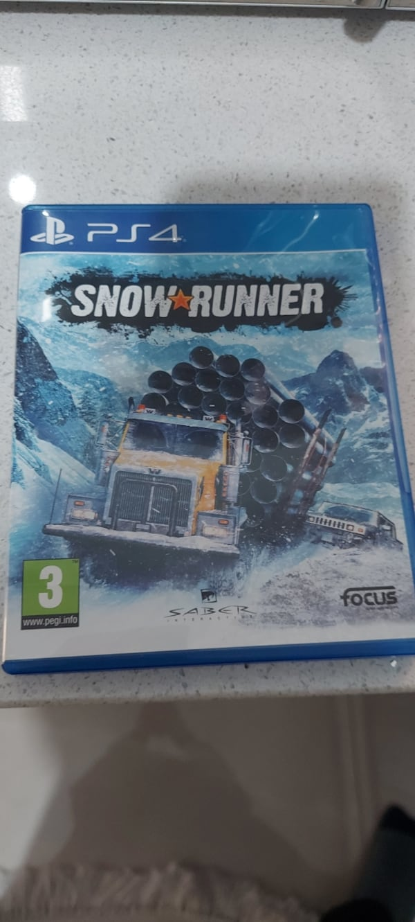 Ps4 Snow runner fda08806-1d51-405e-95d6-8c191db17f1d