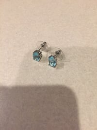 Earrings (real silver) Bristow, 20136