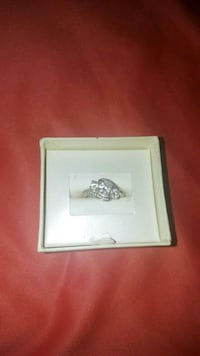 silver diamond ring in box Chico, 95926