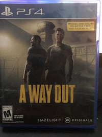 A Way Out PS4 Game Adrian, 49221