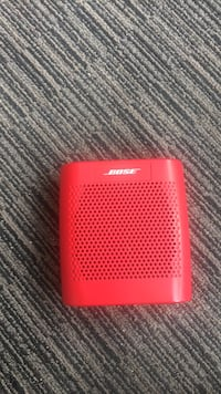 Red and black bose portable speaker Orangeville, L9W 2M2