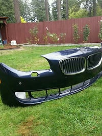 black and blue car roof rack Puyallup, 98375