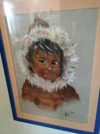 1972 original Inuit boy Ottawa, K2H 7L1