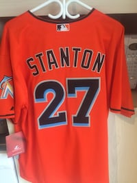 Brand New Miami Marlins Giancarlo Stanton MLB Jersey