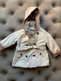 Zara Baby Trench Coat