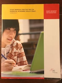 Study Manual For the Test of Essential Academic Skills book