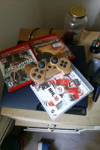 ps3 and one controller and 3 games Edmonton, T5B 2S7
