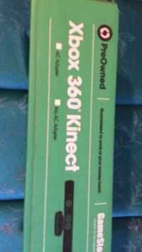 Pre Owned Xbox 360 Kinect box