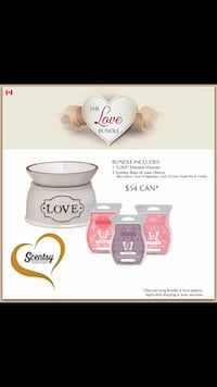 white Love oil diffuser