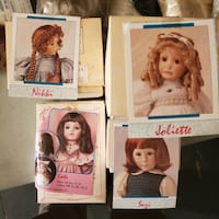 Doll wigs, NEW