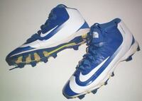 Nike Mid Huarache Molded Ball Cleats B5BL Size 8 Mens London