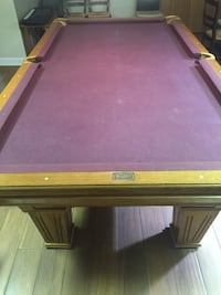 brown and green billiard table Orland Park, 60462
