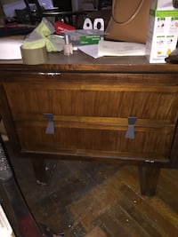 Mid century night stand/ End table Waldorf, 20602