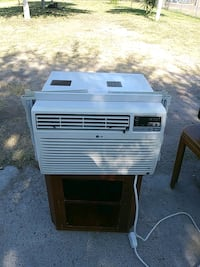 white window type air conditioner Mission, 78574