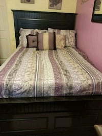 white and pink floral bed sheet Rockville, 20853