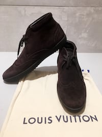 Authentic LV leather shoes