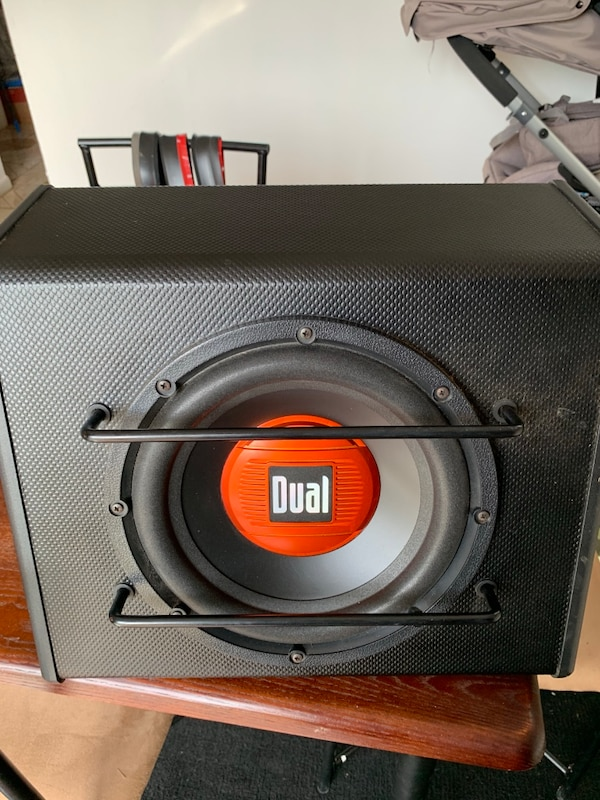 Dual subwoofer