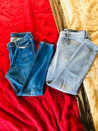 2 woman's skinny jeans size 16 $15 for both