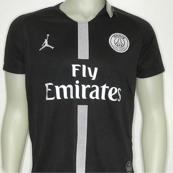 free shipping 0d975 9033e Limited Edition Paris Saint Germain (PSG) Jersey 2018-2019 season - branded  by Jordan - black - Adults Medium Sized
