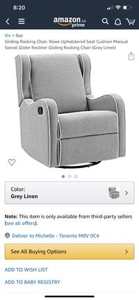 Gliding, Recliner, Swivel Rocking Chair