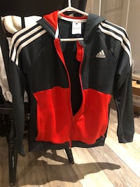 kids Adidas zip up with hood Langley, V3A 1C7