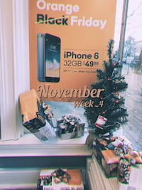 Boost Mobile Iphone 6 32GB(Gold/Grey) Houston