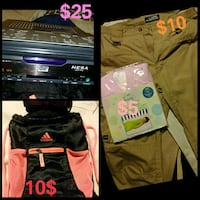 car stereo Adidas backpack pants South Gate, 90280