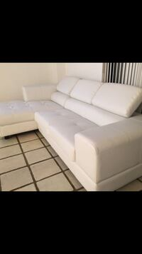 BRAND NEW LUXURY-LEATHER Sectional!