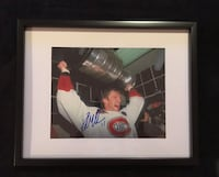 Montreal Canadiens Kirk Muller signed and framed photo  Châteauguay, J6K 2A7