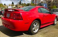 Ford - mustang - 2002 v6, automatic, leather, big sound stereo.