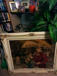 Vintage painting and Frame Pittsburgh, 15205