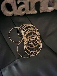 NEW 12 Gold Toned Bangles Nine West Edmonton, T5B 3P5