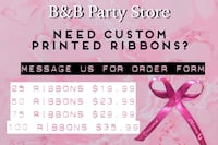Personalized party favors and custom balloons Stockton