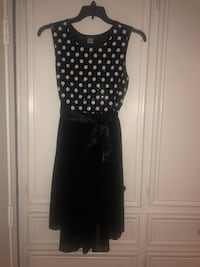 Nice Black & White Dress with sequined top Lubbock, 79424