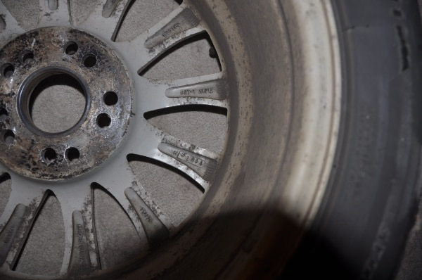 Price Reduced! - Now $250! - 4 Used Wheels with Bridgestone Blizzak Winter Tires WS80 - SIZE: 225/50R17 along with locking lug nuts to use with them 454eef96-95f4-4700-ba66-4afb57e3658b